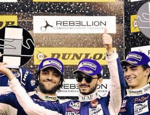 Alexandre Cougnaud Vice-champion d'Europe d'endurance en LMP3